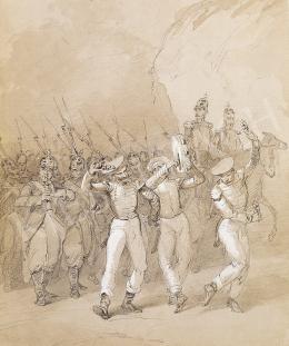 Zichy, Mihály - Soldiers Having Fun
