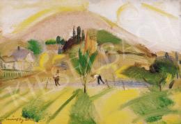 Márffy Ödön - Hegyi táj, 1927