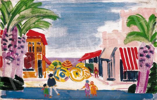 Vaszary János - Francia Riviéra | 22. Aukció aukció / 20 tétel