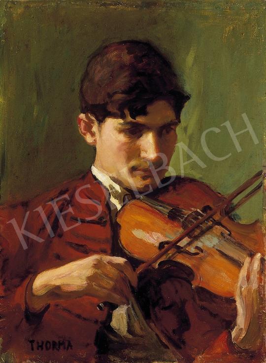 Thorma János - Hegedűszó   5. Aukció aukció / 189 tétel