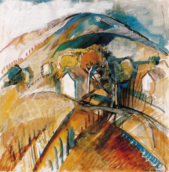 Egry, József - Badacsony, 1920s | 22. Auction auction / 22 Item