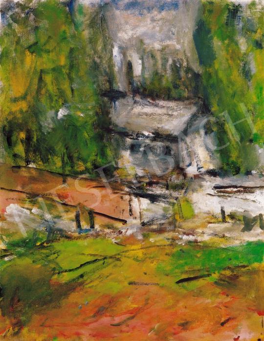 Czóbel Béla - Szentendrei táj | 22. Aukció aukció / 23 tétel