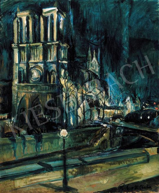Perlrott Csaba Vilmos - A párizsi Notre Dame | 22. Aukció aukció / 24 tétel