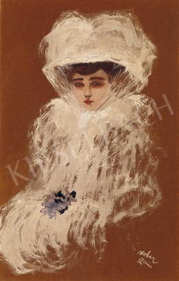 Kóber Leo - Női portré