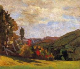 Krizsán János - Nagybányai táj ősszel