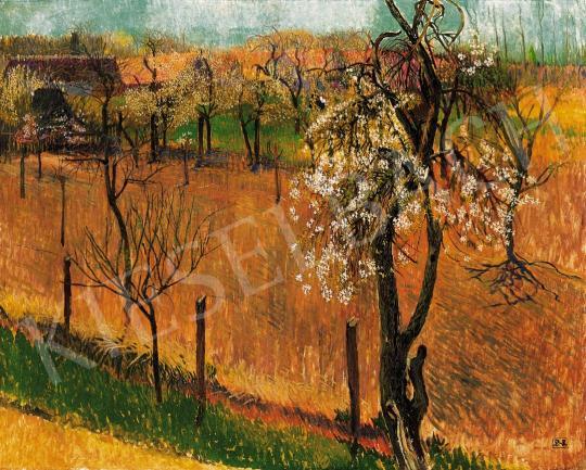 Nagy Sándor - Tavaszi kertben (Virágzás)   22. Aukció aukció / 29 tétel