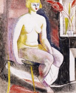 Járitz, Józsa - Nude Sitting