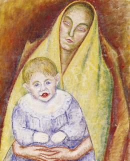 Járitz, Józsa - Mother and Child