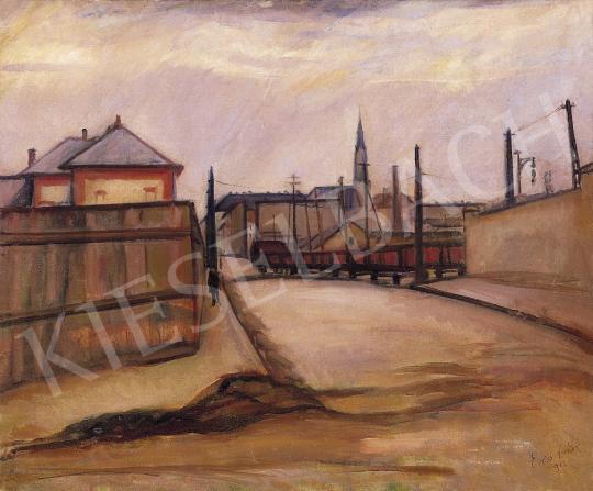 Erős Andor - Külváros | 5. Aukció aukció / 274 tétel