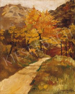 Bornemisza, Géza - Sallowing Leaves in Nagybánya