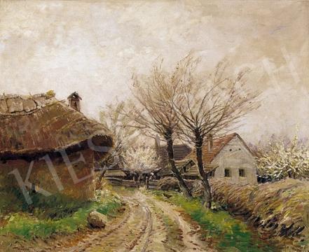 Ujváry Ignác - Tavaszi faluszélén | 5. Aukció aukció / 278 tétel