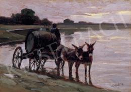 Edvi Illés, Aladár - Water Carrying