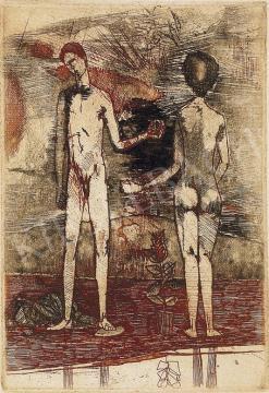 Kondor, Béla - A Couple | 5th Auction auction / 304 Item