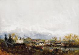 Mednyánszky László - Tátrai táj