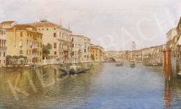 E. Benvenuti jelzéssel, 1900 körül - Velence