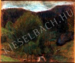 Nagy István - Erdélyi tisztás (1910)