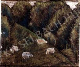 Nagy István - Birkák a hegyen (1933)