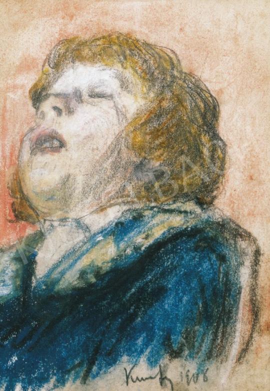 Kunffy Lajos - Gyerekportré | 22. Aukció aukció / 42 tétel