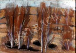 Nagy István - Öszi fák (1928 körül)