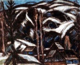 Nagy István - Erdélyi havasok (1933 körül)