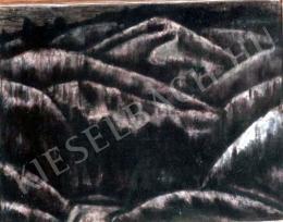 Nagy István - Alkony a Havasokban (1928 körül)
