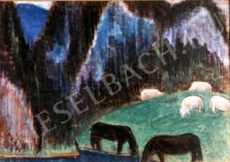 Nagy István - Legelő állatok (1927)