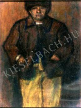 Nagy István - Barna kabátos fiú