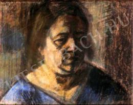 Nagy István - A művész felesége