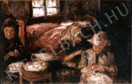 Nagy István - Parasztasszonyok szobabelsőben