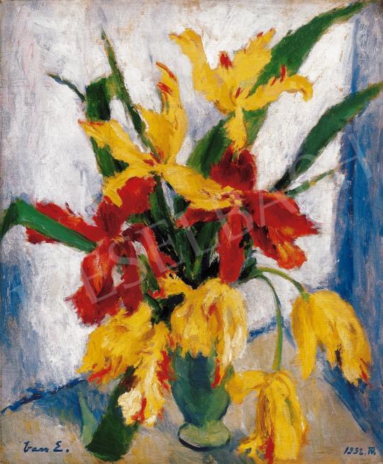 Vass Elemér - Tulipánok, 1932 | 22. Aukció aukció / 44 tétel