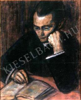 Nagy István - Olvasó férfi