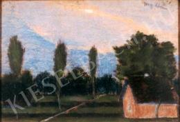 Nagy István - Táj kék éggel
