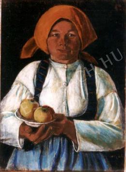 Nagy István - Almát tartó menyecske (1934)