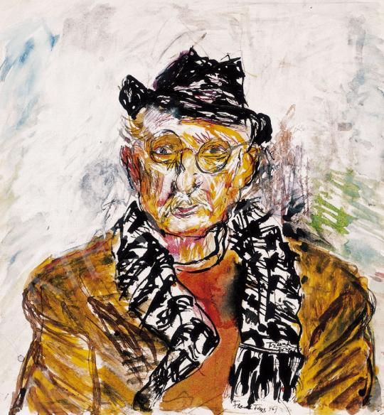 Frank Frigyes - Önarckép | 22. Aukció aukció / 46a tétel