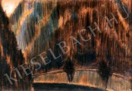 Nagy István - A Gyilkos-tó környéke (1930 körül)