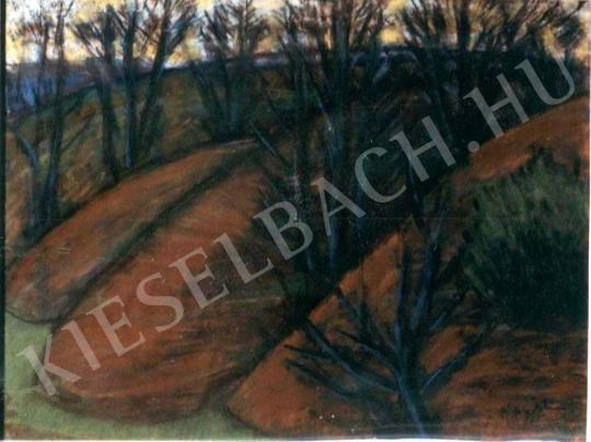 Nagy István - Öszi alkony a Bakonyban festménye