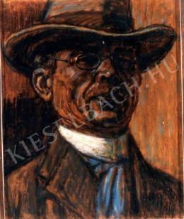 Nagy István - Önarckép (1919)