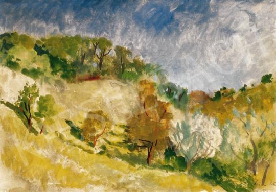 Szőnyi, István - Zebegény Hillside | 25th Auction auction / 6 Item