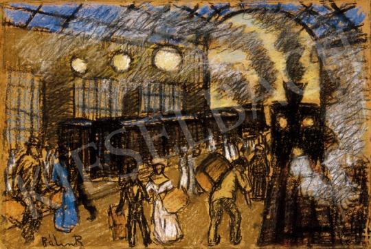 Bálint Rezső - Brüsszeli pályaudvar | 25. Aukció aukció / 11 tétel