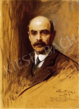 László, Fülöp - Man with a Moustache