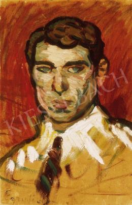 Egry, József - Self-Portrait
