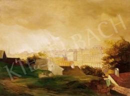 Háry Gyula - Naphegy háttérben a Budai várral