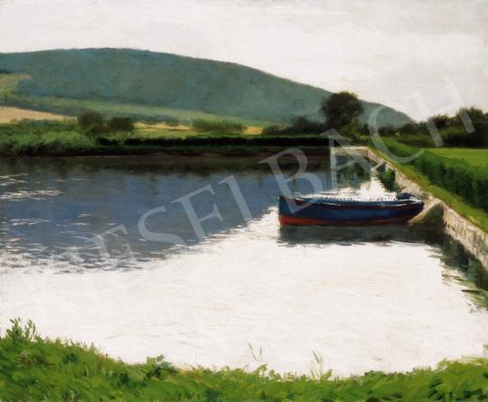 Glatz Oszkár - Csónak a tavon | 25. Aukció aukció / 33 tétel