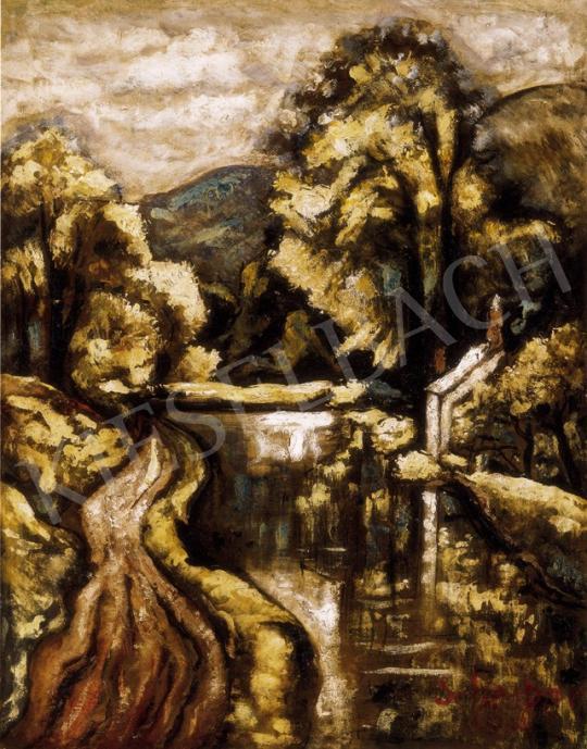 Scheiber Hugó - Vízpart | 25. Aukció aukció / 43 tétel