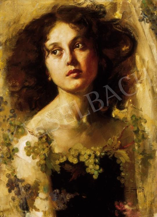 Erler-Samaden, Erich - Leány szőlők között | 25. Aukció aukció / 49 tétel