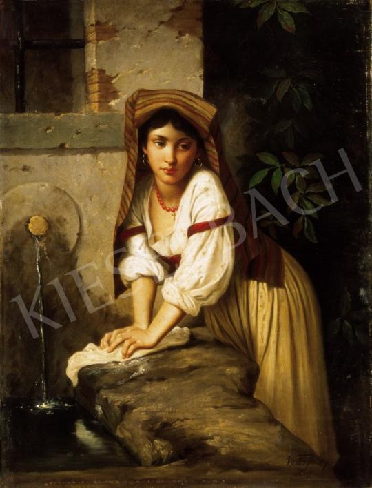 Vastagh György - Olasz kislány a kútnál | 25. Aukció aukció / 50 tétel