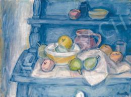 Kmetty János - Csendélet gyümölcsökkel (1930 körül)