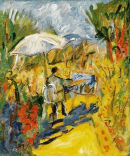 Basch Andor - Provence-i táj festővel