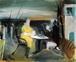 Farkas István - Kerti asztalnál