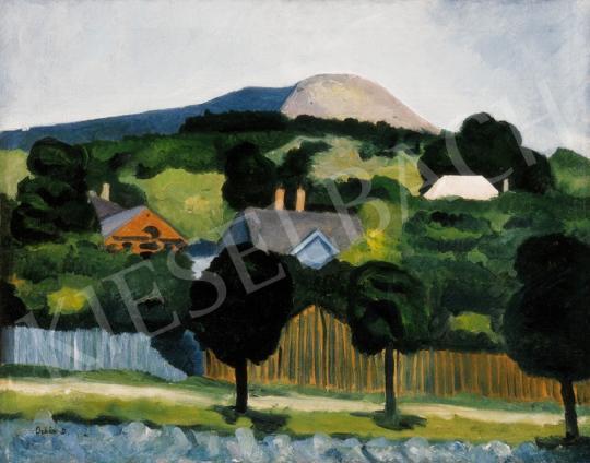 Orbán Dezső - Francia táj | 25. Aukció aukció / 76 tétel